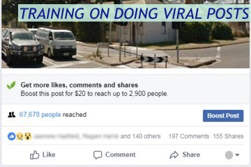 Training on Doing Viral Posts